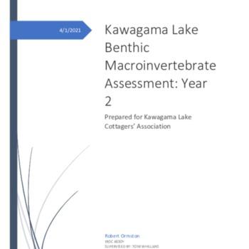 Kawagama Lake Benthic Report Final.pdf