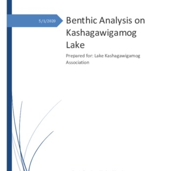 Lake Kashagawigamog Benthic Report Final Draft.pdf