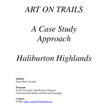 Art on Trails - A Case Study Approach - Haliburton Highlands.pdf